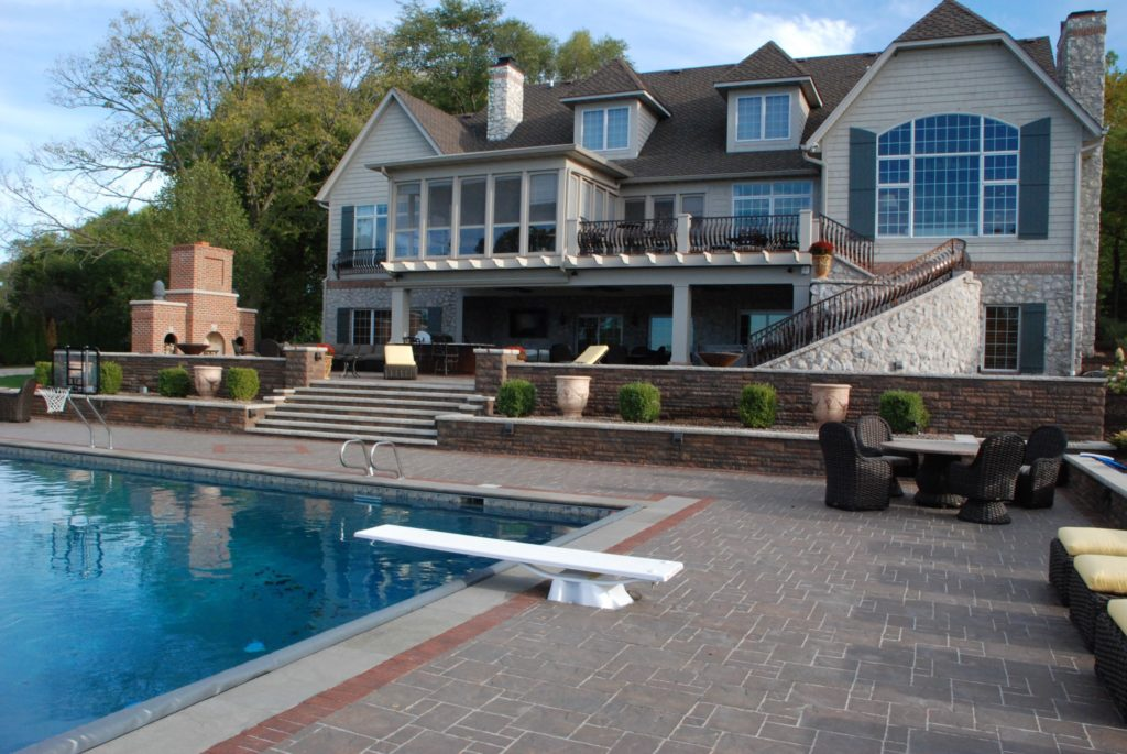 hardscaping, poolscapiing