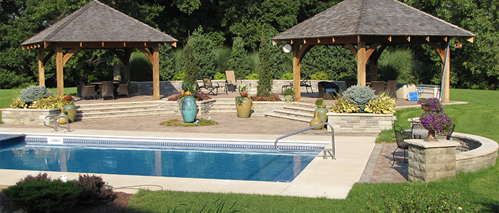 Poolscaping and Hardscaping