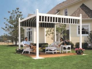 pergola outdoor area