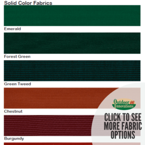 shadetree fabric options solid