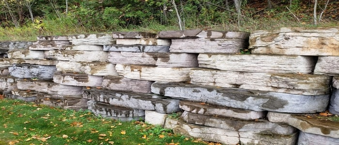 hardscaping natural stones