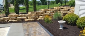 hardscaping using natural stone looks
