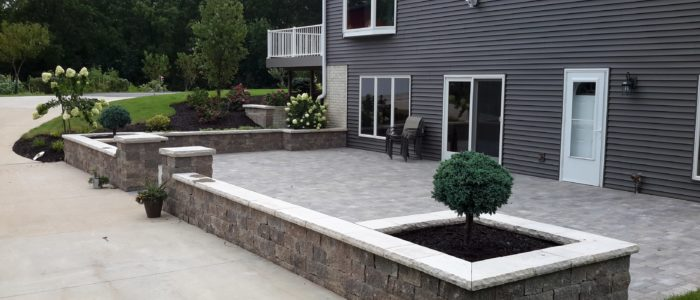 outdoor living hardscaping and landscaping
