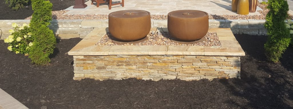 custom fabrication fountain base